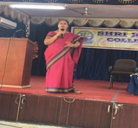Lecture on  Career Opportunities In Commerce Stream by Smt.Deepa Rao