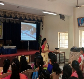 "Guest Lecture  on  ""Importance of Management Information System in Business Decisions"" 2019-20"