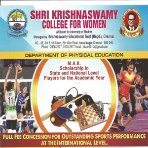 Shri Krishnaswamy College for Women