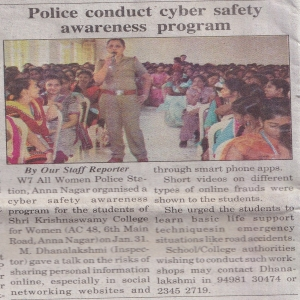 Cyber Safety Awareness programme